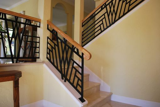 Custom Made Art Deco Railing