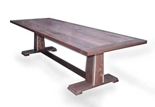 Custom Made Walnut Dining Table 4