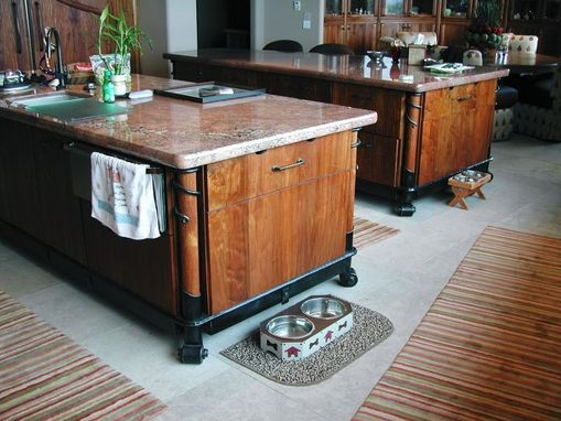 Custom Made Iron Stands For Kitchen Islands