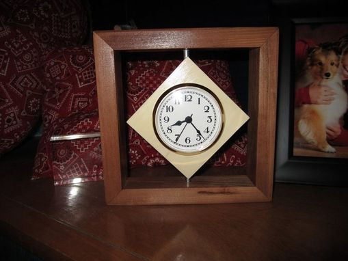 Custom Made Suspended Frame Clock