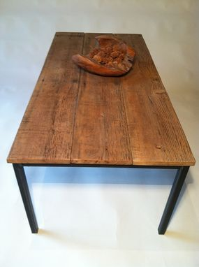 Custom Made Reclaimed Wood Coffee Tables