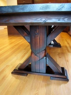 Custom Made Single & Double Pedestal Tables
