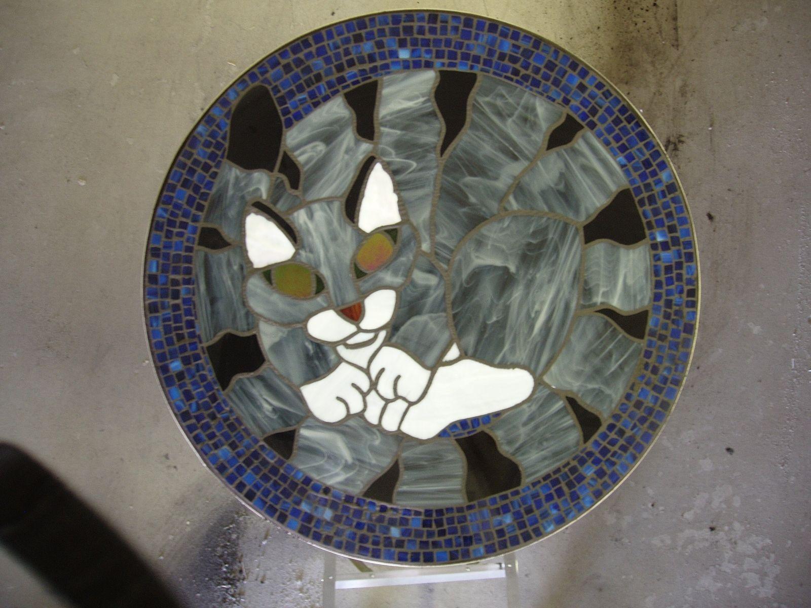 Custom Made Mosaic Table Tops