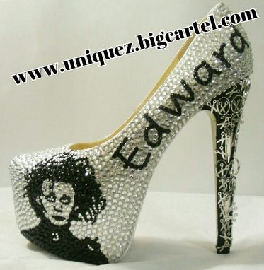 Custom Made Edward Scissorhands Heels