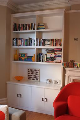 Custom Made Custom Book Shelves