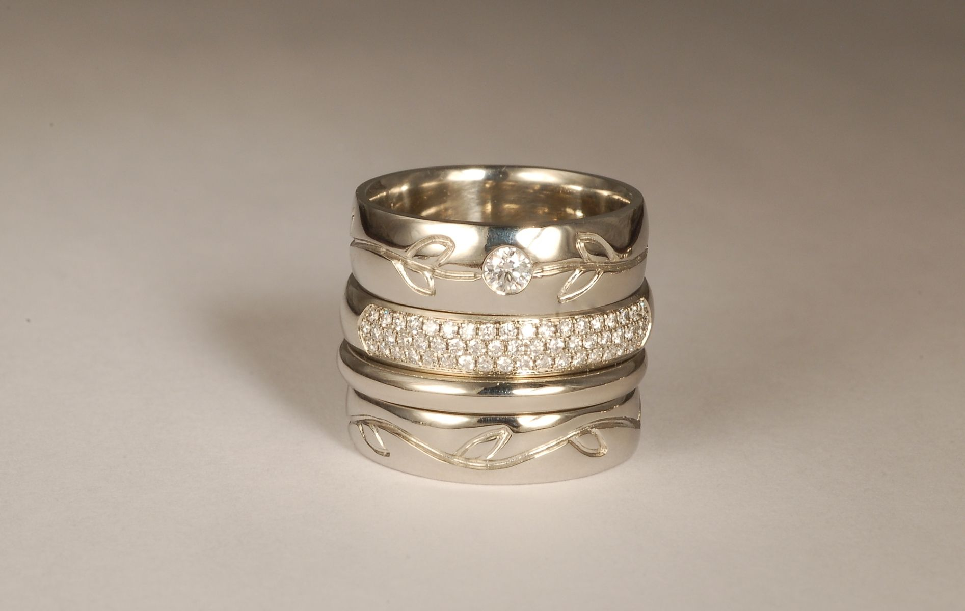 custom made womens wedding and engagement rings - Custom Made Wedding Rings