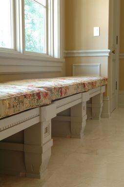 Custom Made Bespoke Built-In Bench
