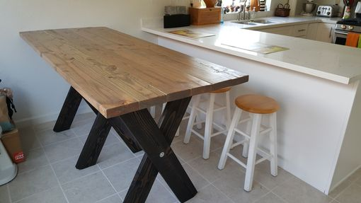 Custom Made Reclaimed Top Table