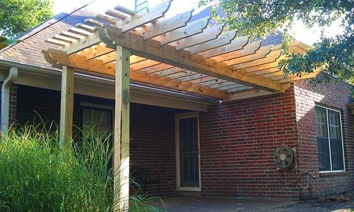 Custom Made Backyard Pergola