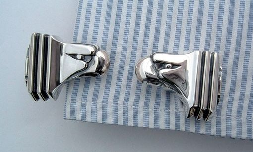 Custom Made Chrysler Eagle Cufflinks