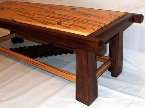"Custom Made Coffee Table - The Elements Collection - ""Wind"""