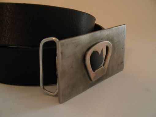 Custom Made Bottle Opener Belt Buckle.