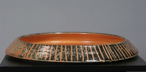 Custom Made Ikebana Containers - Handmade Suibans In Shino Striped Glaze