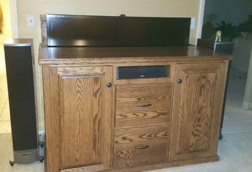 Custom Made Bookcases , And Cabinets