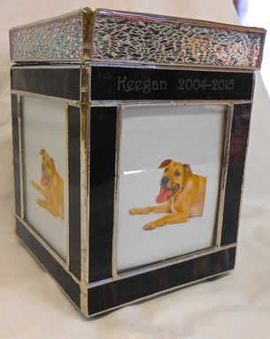 Custom Made Cremains Box For A Beloved Pet