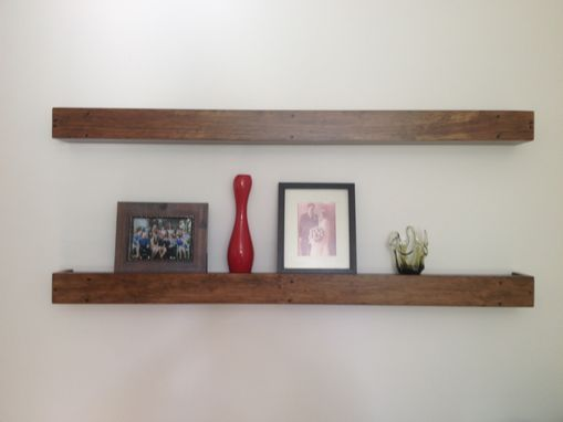 Custom Made Floating Shelves