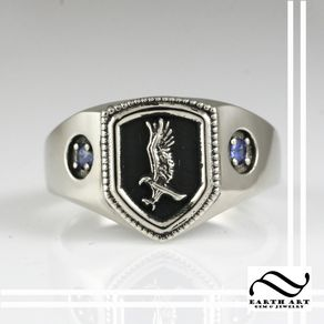 ravenclaw house ring harry potter inspired - Harry Potter Wedding Rings