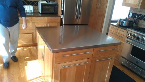 Custom Made Custom Stainless Steel Counter Top