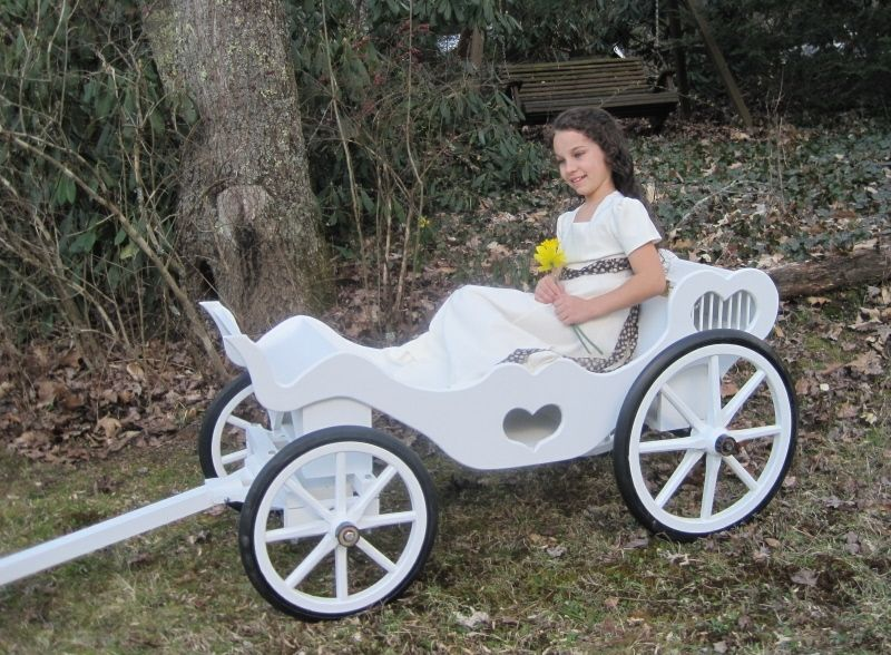 Hand Crafted Princess Cinderella Carriage by Mini Wedding Wagons ...
