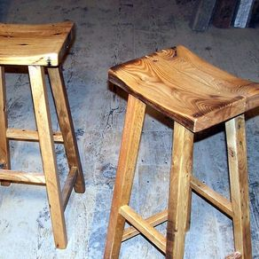 Pleasant Buy A Custom Reclaimed Barn Wood Rectangle Stools With Free Theyellowbook Wood Chair Design Ideas Theyellowbookinfo