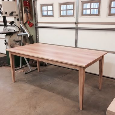Custom Made Farmhouse Extension Dining Table