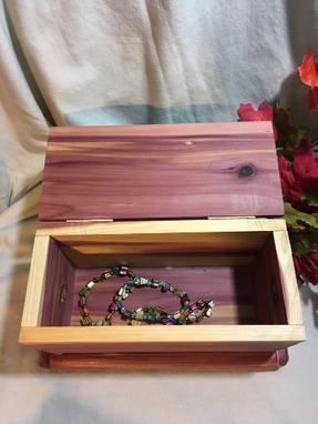 Custom Made Homemade Keepsake Box