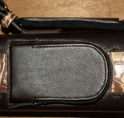 Custom Made Tl34npgp - Leather Poolstick Case