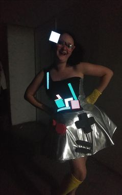"Custom Made Light Up ""Tetris"" Costume"