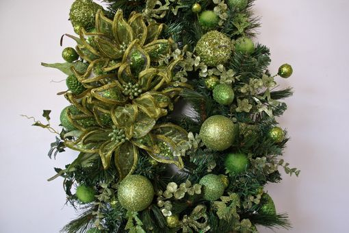 Custom Made Oval Christmas Wreath