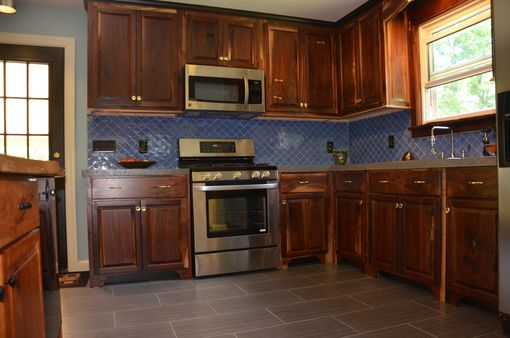 Custom Made Kitchen And Built In Cabinetry