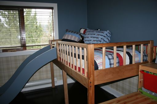 Custom Made Custom Child's Bed, Locally Sourced Maple.