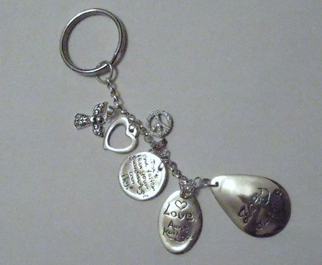 Custom Made Custom Charm Family Tree Remembrance Birthstone Bracelet/Key Chain