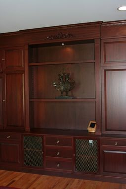 Custom Made Mahogany Home Library