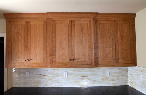 "Custom Made Custom ""Hardwood Grain Matched"" Cherry Kitchen"