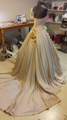 Custom Made Stunning Spanish Style Ball Gown Wedding Dress