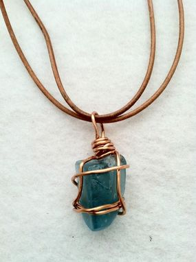 Custom Made Sea Glass Necklace