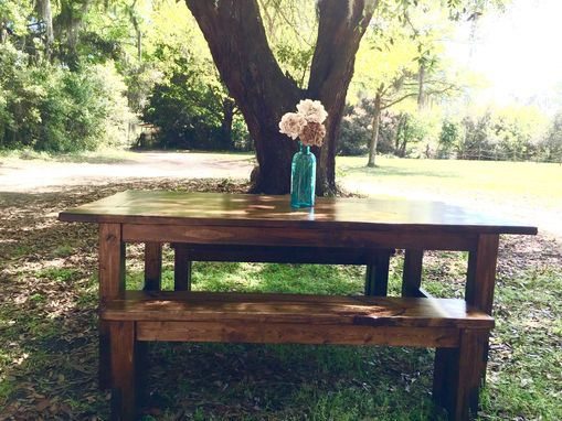 Custom Made Custom Farm Style Tables