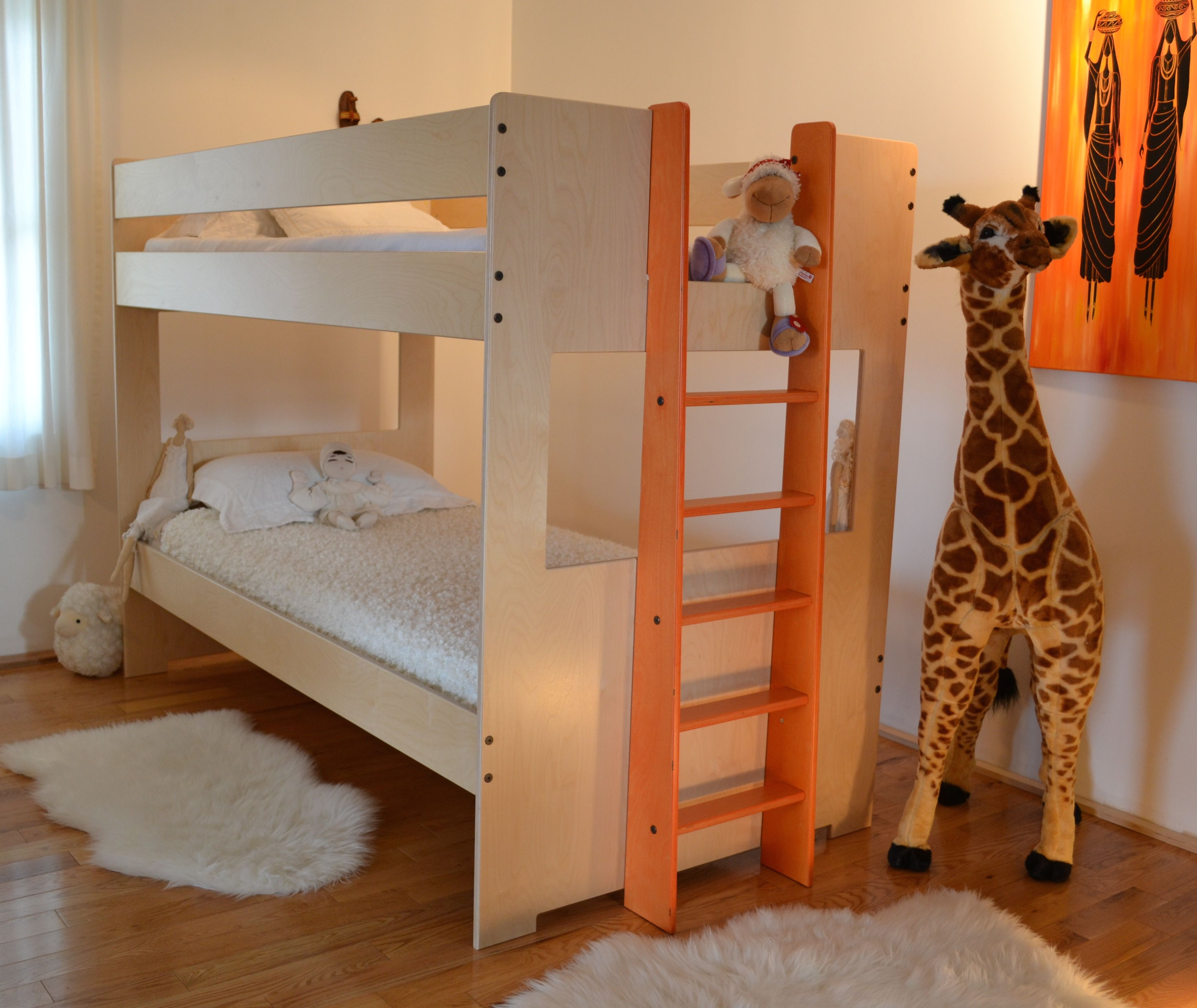 Unique Bunk Beds: Buy A Handmade Twin Bunk Bed, Made To Order From Loft And
