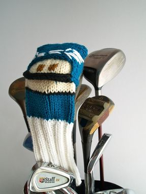 Custom Made Knit Pattern Football Player Golf Club Cover Pdf