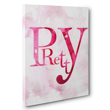 Custom Made Pretty Canvas Wall Art