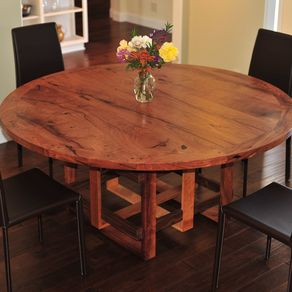 hand crafted mesquite dining tableporch light custom