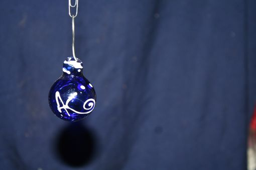 Custom Made Hand Blown Glass Ornaments