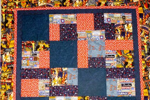 Custom Made Custom Made Military Tribute Quilt