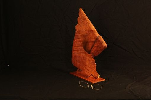 Custom Made Sunfish Carved From Wood