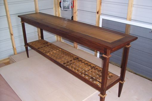 Custom Made Side / Sofa Console  Table