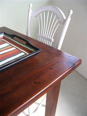 Custom Made Pub Table With Extensions