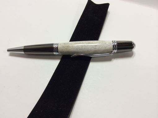 Custom Made Deer Antler And Gun Metal Classica Twist Pen