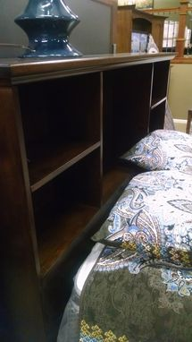 Custom Made Latrobe Springs Queen Bed In Brown Maple