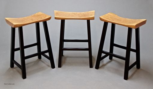 Custom Made Live Edge Stools