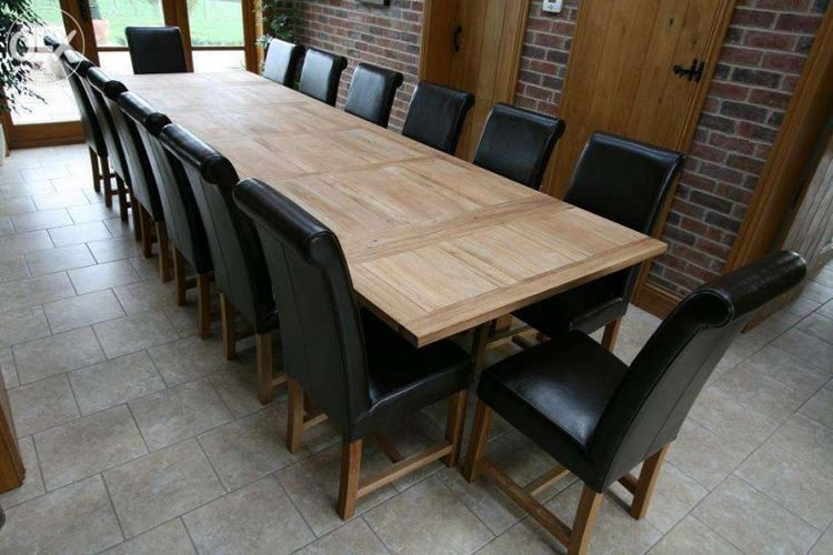 Large Dining Room Table Seats 20 scintillating 10 foot dining room table pictures - 3d house